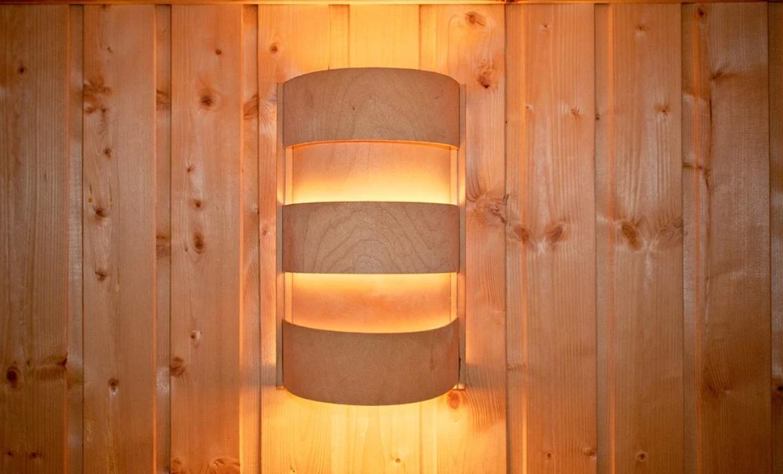 dřevěné světlo