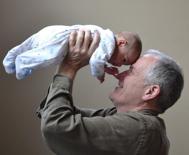 dědeček a vnouče