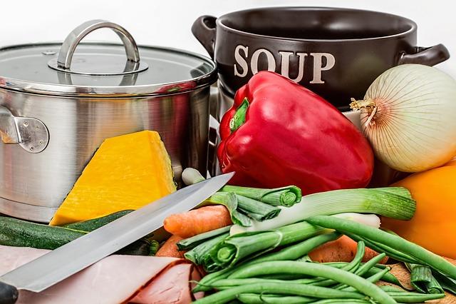 zelenina na polévku