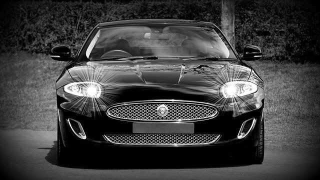 světla jaguáru