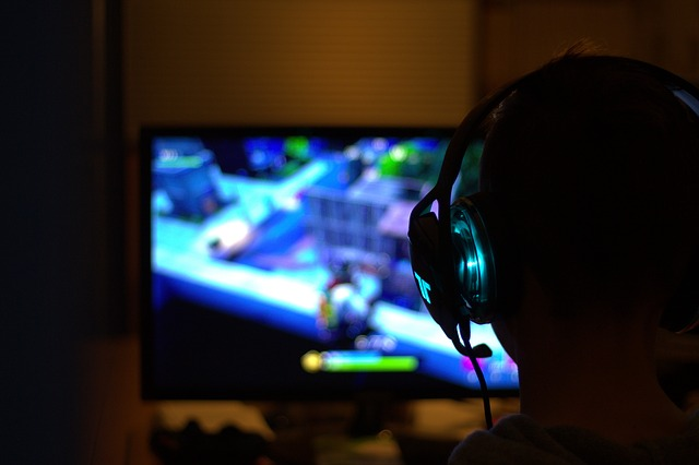 Hraní her, hry, volný čas.